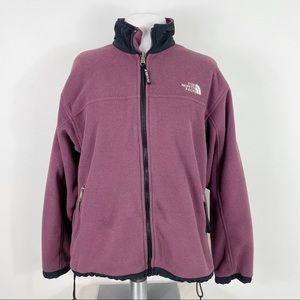 Woman's The North Face Full Zip Fleece Jacket Coat